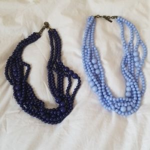 Baublebar chunky beaded necklaces
